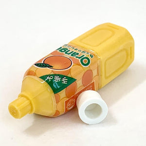 381597 Iwako Orange Juice Eraser-1 eraser