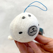 Load image into Gallery viewer, 63052 KNITTED WHALE WOOPER LOOPER CHARM -6 assorted pieces