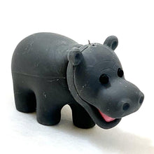 Load image into Gallery viewer, 380052 Iwako Hippo Eraser 2 colors-2 erasers