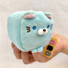 Load image into Gallery viewer, 63047 MINI CUBE CAT PLUSH TOYS-10 assorted colors