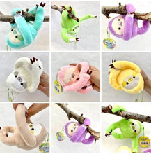 Load image into Gallery viewer, 63045 SLOTH PLUSH-8 assorted colors