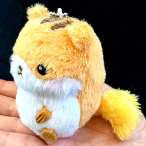 63033 Small Kawaii Animal Plush Key Charms-10 assorted animals