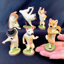 Load image into Gallery viewer, 707151 DANCING DOG FIGURINES-6 assorted