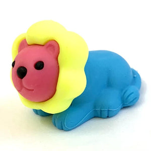 384581 Iwako Colorz Lion -1 box of 5 erasers