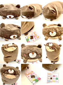 63090 MARSHMALLOW PILLOW-BEAR PLUSH-1