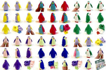 Load image into Gallery viewer, 384591 Iwako Colorz Penguin -1 box of 5 Erasers