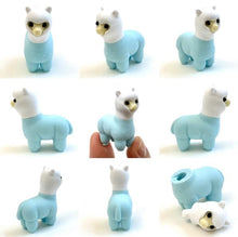 Load image into Gallery viewer, 384611 Iwako Colorz Llama Erasers-1 box of 5 erasers