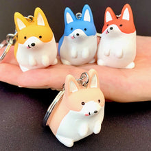 Load image into Gallery viewer, 120053 CORGI CHARM with keyring-BLUE-1 piece