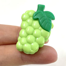 "Load image into Gallery viewer, 385082 Iwako 1"" Fruit Spring Clip-6 clips"