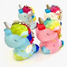 Load image into Gallery viewer, 833221 UNICORN SQUISHY-slow rise-3 inch-1 piece