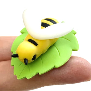 382196 iwako BEE ERASER-2 COLORS-2 erasers