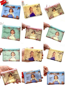 100645 CLASSIC DOLL COIN PURSE-BLUE DRESS-1 COIN PURSE