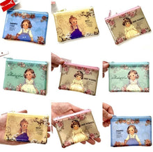 Load image into Gallery viewer, 100641 CLASSIC DOLL COIN PURSE in 4 colors-4 PURSES