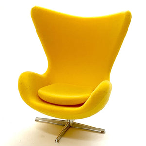 75145 Egg Chair-Yellow-1 chair