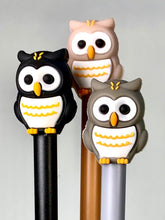 Load image into Gallery viewer, 222652 OWL GEL PEN-3 assorted pens