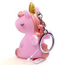 Load image into Gallery viewer, 120152 BIG SOFT UNICORN CHARM-PINK-1 piece