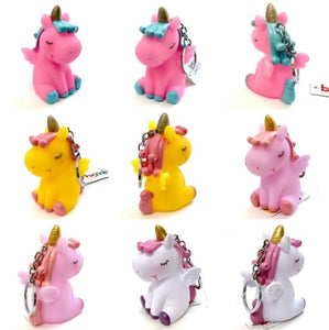120152 BIG SOFT UNICORN CHARM-PINK-1 piece