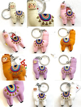 Load image into Gallery viewer, 120142 Llama Keychain-Pink-1 piece