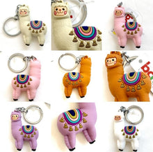 Load image into Gallery viewer, 120143 Llama Keychain-Brown-1 piece