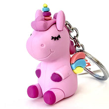 Load image into Gallery viewer, 120132 UNICORN CHARM-Purple-1 piece