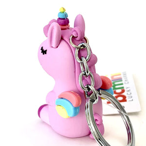 120132 UNICORN CHARM-Purple-1 piece