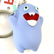 Load image into Gallery viewer, 120073 MONSTER CHARM with keyring-BLUE-1 piece