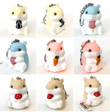 Load image into Gallery viewer, 120174 BIG HAMSTER CHARM-BLUE-1 piece