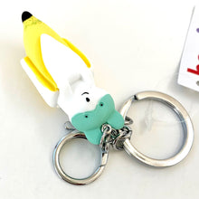 Load image into Gallery viewer, 120095 BANANA DOG CHARM with keyring-GREEN-1 piece