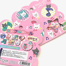 Load image into Gallery viewer, 011891 Qlia Melody Cat Mini Sticker Bag-1 bag
