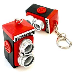 830561 Classic Camera Flashlights Keyring-1 piece