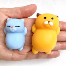Load image into Gallery viewer, 622031 BIG SLEEPY CAT GUMMY-YELLOW-1 piece