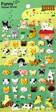 Load image into Gallery viewer, 313041 DOG SOFT PUFFY STICKERS-1 sheet