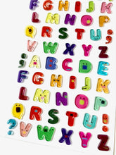 Load image into Gallery viewer, 372521 ALPHABETS GEL STICKERS-1 sheet