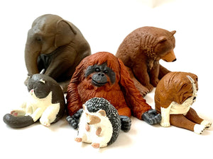 708811 SLEEPY ANIMAL FIGURINES Vol. 1-6