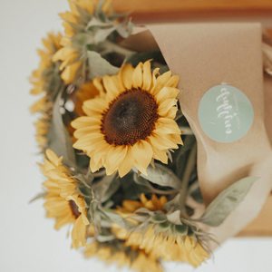 Local Sunflower Hand-Tied Bouquet