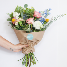 Load image into Gallery viewer, Medium Hand-Tied Bouquet