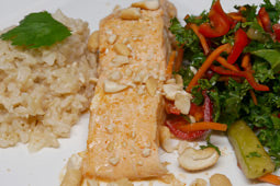 Curry Coconut Salmon