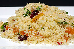 Couscous with Walnuts and Dried Fruit