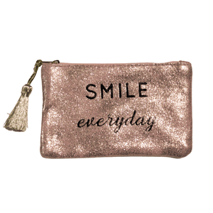 Pochette message Smile everyday Mÿmÿ Bijoux Paris