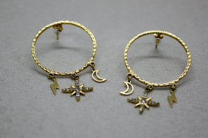 Boucles d'oreille Dream Mÿmÿ Bijoux Paris ™