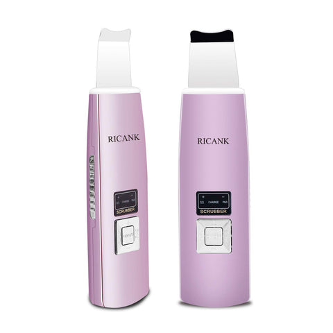 Facial Skin Scrubber & Blackhead Remover - Purple