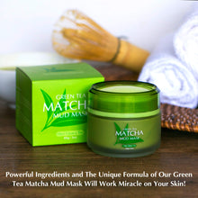Load image into Gallery viewer, MatchaMud Mask - Green Tea Matcha