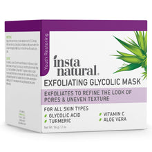 Load image into Gallery viewer, Exfoliating Glycolic Face Mask & Scrub