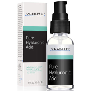 Pure Hyaluronic Serum - Clinical Strength  1 oz