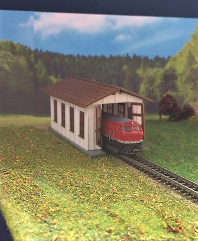 4115 - Lokschuppen für Shorty's / Engine shed for Shorty's