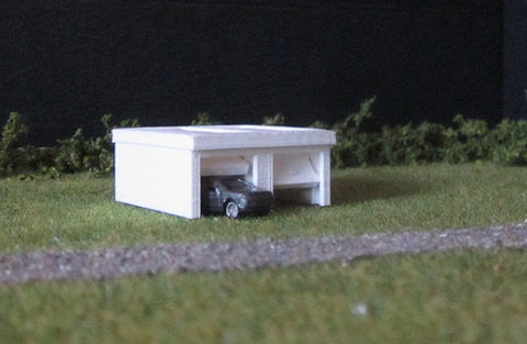 4011 - Doppelgarage mit Flachdach / double garage with flat roof