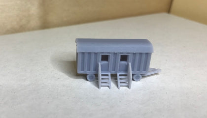 6152R-  WC-Wagen in Spur Z, M 1:220 /  toilet car