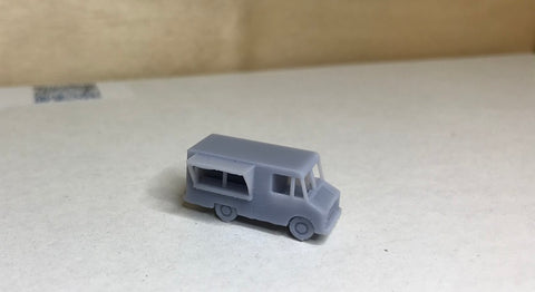 6206R - Imbisswagen, Spur Z, M 1:220 / Food Truck scale