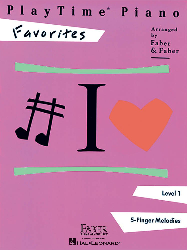Playtime Piano Level 1 Favorites 5 Finger Melodies