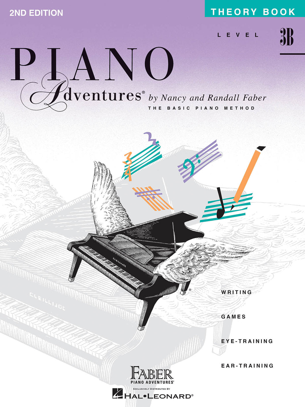 Faber Piano Adventures Theory Book 3B